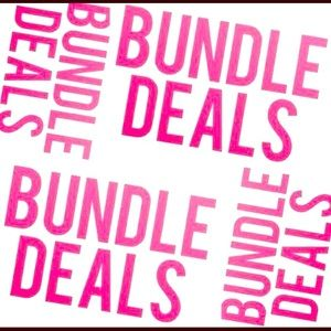 Love a few styles ? Make it a bundle and save!!